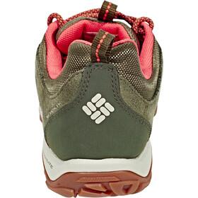 Columbia Fire Venture Low Waterproof Schuhe Damen nori/corange